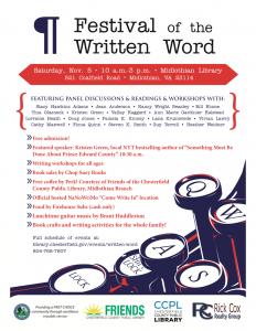 festival of the written word 2016