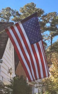 american flag veteran's day
