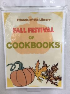 fall festival cookbooks festivalwrittenword