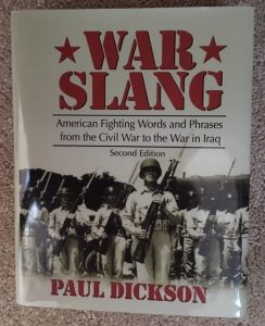 war slang paul dickson