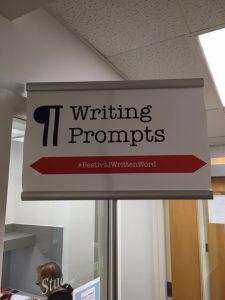 writing prompts festivalwrittenword