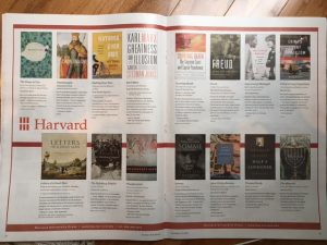 harvard ad New York Review of Books