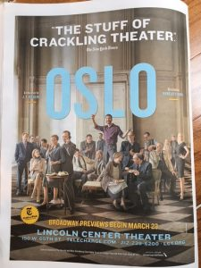 oslo lincoln center theater New York Review of Books
