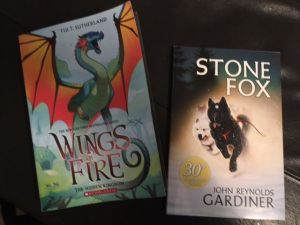 wings fire stone fox