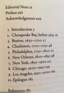 Speaking American table of contents