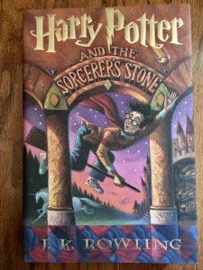 harry potter sorcerer's stone j.k. rowling