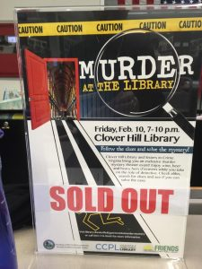 murder at the library clover hill