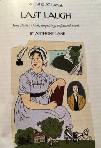 last laugh jane austen