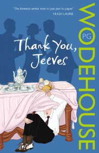 thank you jeeves wodehouse