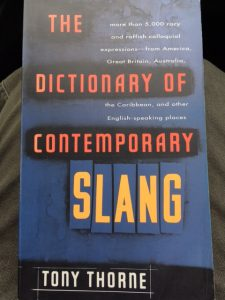loving used bookstores dictionary contemporary slang tony thorne