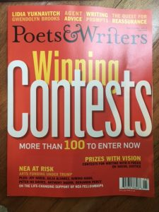 poets and writers winning contests