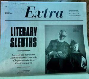 extra literary sleuths