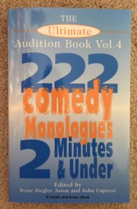 musings number titles 222 comedy monologues