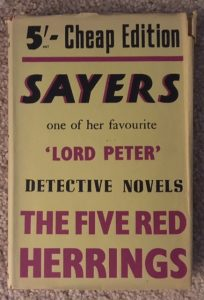 musings number titles dorothy sayers