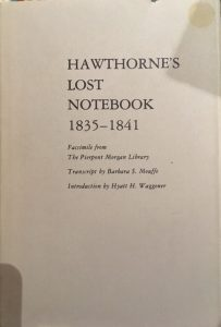 hawthorne's lost notebook