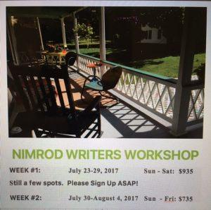 nimrod writers workshop