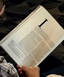 magazine airport reading