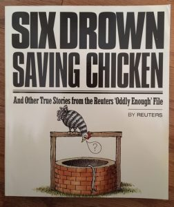 off beat character building six drown saving chicken