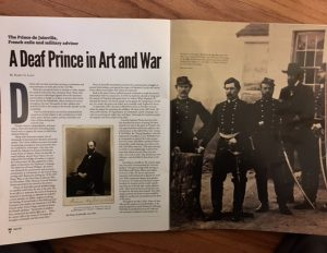deaf prince art war