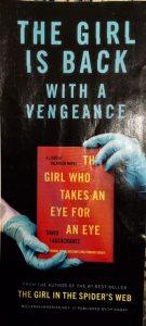 girl takes eye eye