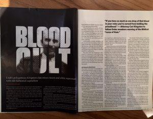 reading bits pieces blood cult