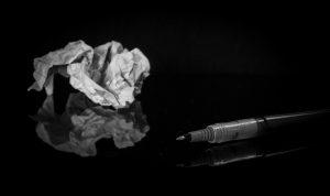 treasure trash writing problems