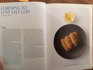 learning love salt cod