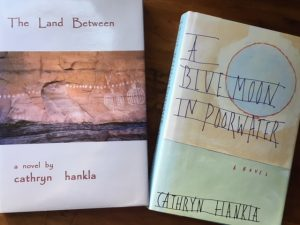 cathryn hankla land between blue moon poorwater