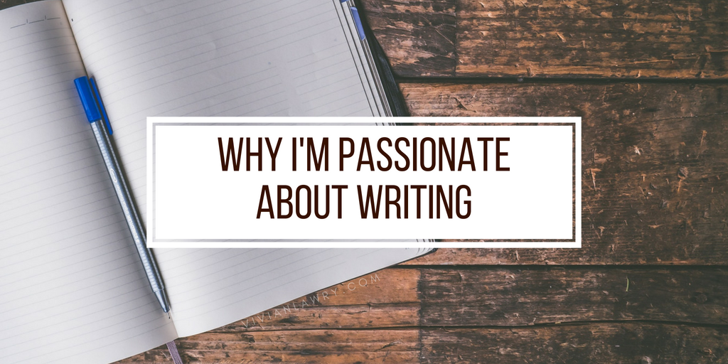 passionate about writing