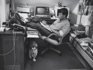 stephen king writing office