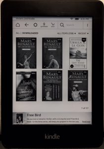 mary renault books kindle