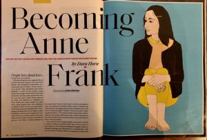 becoming anne frank