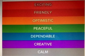 personality color panels