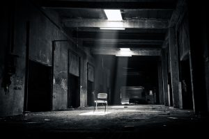 room and chair, kidnapping