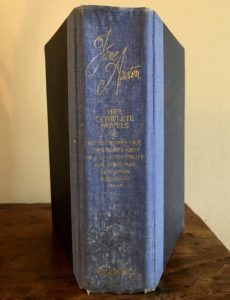 The complete works by Jane Austen spine