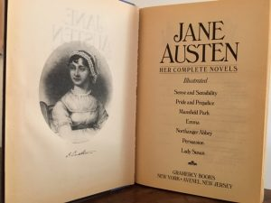 Jane Austen: Her Complete Novels title page, Gramercy Books
