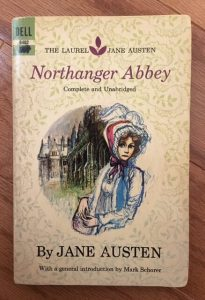 book cover of Northanger Abbey by Jane Austen, Laurel Jane Austen edition